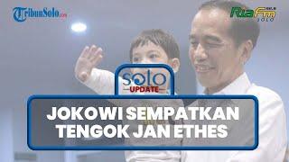 Tak Ada di Daftar Agenda, Jokowi Sempatkan Belok Solo, Tengok Jan Ethes Cucu Kesayangan