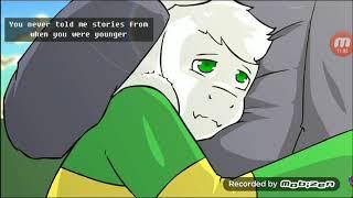 Анимация гличтейл 2 сезон. Часть 10 битва фриск и Бетти и ещё санса и папайруса
