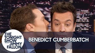 Бенедикт Камбербэтч, Benedict Cumberbatch Gives Jimmy a Kiss and Has Some Hot Sax