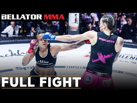 Bellator MMA: Denise Kielholtz vs. Jessica Middleton FULL FIGHT