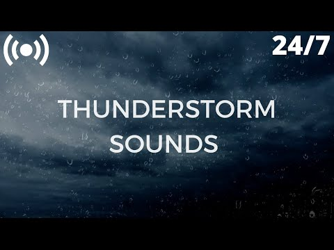 Thunderstorm Sounds for Sleep, Insomnia, Relaxing | Gentle Thunder & Rain Sounds: Nature Sleep Aid