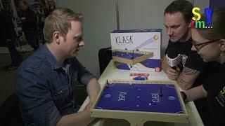KLASK - Spezial - Tipps & Tricks vom Profi Alex - mit Julia & Flo