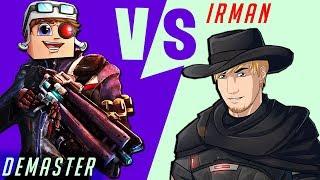ИРМАН VS ДЕМАСТЕР [Overwatch Случайная Дуэль]