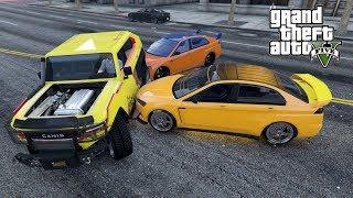 """KURUMY VS KOZAK SUV FREECRAWLER! w GTA 5 Online Hogaty i EKIPA """"ŚWIETNIE SKRĘCA!"""" #243"""
