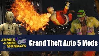 More Grand Theft Auto V mods - James & Mike Mondays