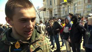 Loyalties divided in Ukraine's Odessa