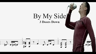 3 Doors Down - By My Side - Guitar Pro