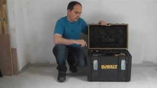 My Favorite Tool Box Dewalt Tough System DS150, DS400 and Wolfcraft Trolley TS850