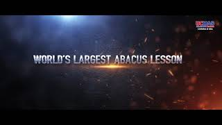 Guinness World Record | World's Largest Abacus Lesson