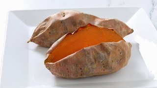 fastest way to make baked sweet potatoes