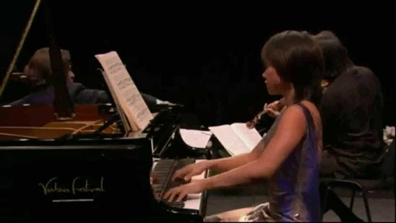 Mendelssohn - Trio for piano, violin and cello No  2 - Yuja Wang
