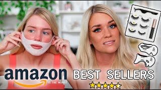 TRYING OUT AMAZONS BEST SELLER BEAUTY PRODUCTS