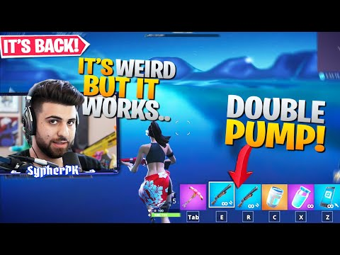 How To DOUBLE PUMP in Season 9! (Sort of) - Fortnite Battle Royale Gameplay