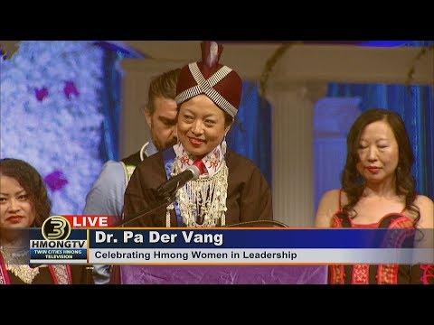 3 HMONG NEWS: DR. PA DER VANG SPEAKING AT MN HMONG NEW YEAR 2018.