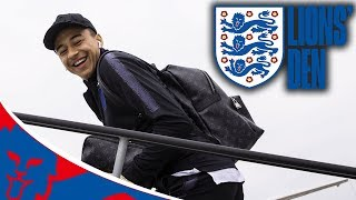 On The Runway as England Head to Russia! | Lions' Den Episode One | World Cup 2018