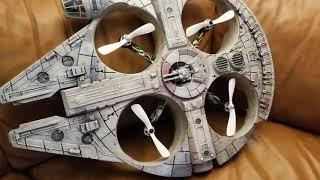 Star Wars Millennium Falcon Drone Quadcopter DJI Phantom Upgrade, Part 2