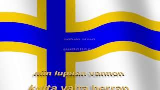 """Video thumbnail of """"Darya & Månskensorkestern - Helsingistä Boråsiin (Unofficial Lyric Video)"""""""