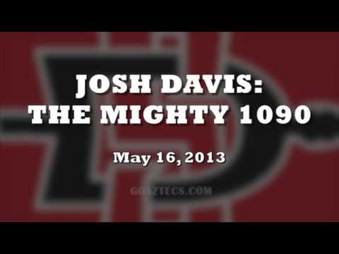 SDSU MEN'S HOOPS: JOSH DAVIS INTERVIEW - 5/16/13
