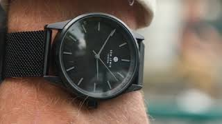 Sem Lewis Metropolitan Northwick Park herenhorloge zwart/zwart