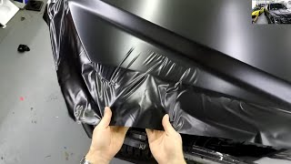 POV HOOD WRAP UP CLOSE | GoPro FORD RAPTOR TRUCK HOOD WRAP