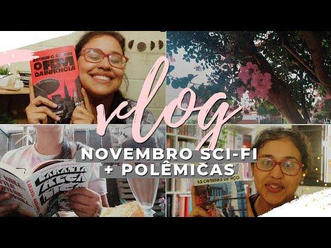 vlog de leitura 03: novembro sci-fi