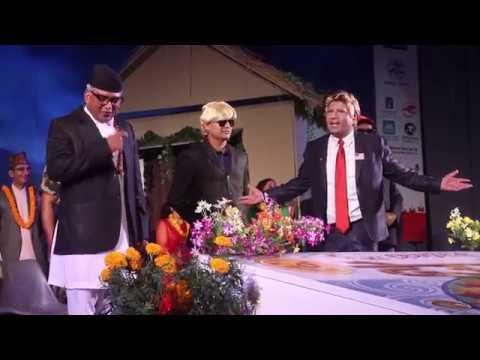 Donald Trump र Deuba को देउसी 2074 || Manoj Gajurel and Dhurmus Comedy || Sisnupani Deusi