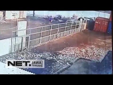 Seram, Pembunuhan Terekam CCTV Di Semarang - NET JATENG