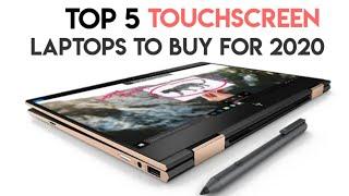 Top 5 Best Touchscreen Laptops to buy in 2020