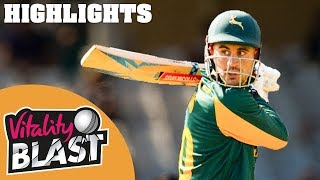 Notts v Worcestershire | Hales Hits 50 In Notts Defeat | Round 1 | Vitality T20 Blast 2019