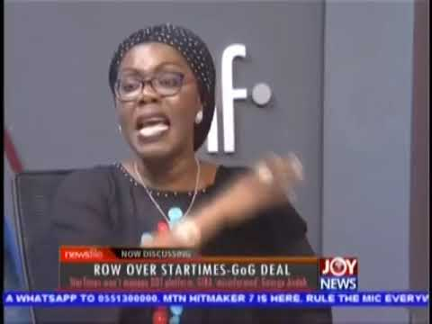 Communications Minister, Ursula Owusu faces off GIBA Pres. over Digital Migration deal. (23-09-18)