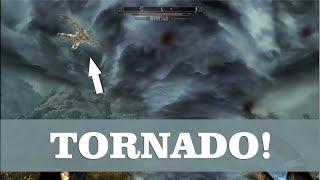 Skyrim SE - Amazing Tornado spell! (Apocalypse mod)