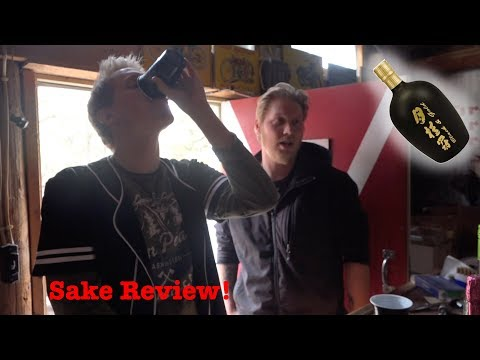 Black & Gold Sake Review!