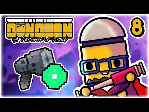 High Kaliber & Sprun | Part 8 | Let's Play: Enter the Gungeon: A Farewell to Arms | PC Gameplay