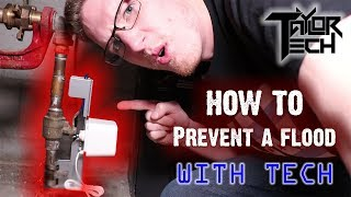 Prevent water damage with Dome! | Z-Wave Plus Leak detector, Water Main Shutoff, and MORE