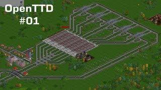 preview picture of video 'OpenTTD - 1. Díl - Autobusy v jednom kole [Český Let's Play - NikinCZ] - ReRecord'