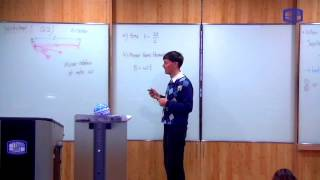 These videos are taken from a lecture course on Modern Physics I taught at the Catholic University of Korea in Spring 2016.This video describes the Foucault experiment -- an earth-bound experiment to measure the speed of light in the mid-1800s.Link to the slides used in this video: https://drive.google.com/file/d/0B8hDfVvVdCImeHJVZlE4RGwxZkE/view?usp=sharing