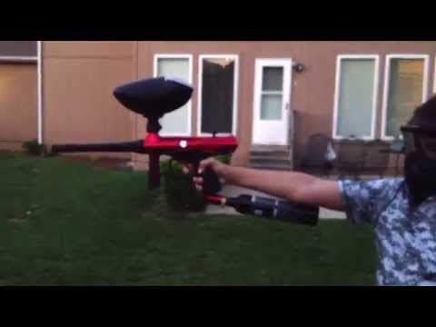 Paintball reliability test (triumph paintballs)