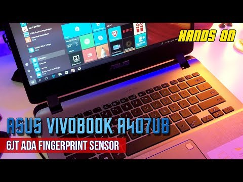 Asus Vivobook A407UB Hands On Indonesia