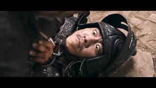Боевая сцена, Хейден Кристенсен против воинов (на площади)/Джейкоб против воинов (на площади)