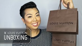Louis Vuitton Unboxing May 2016  |  Style Minded