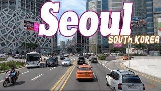 Seoul South Korea 4K .City - Sights - People