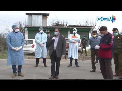 Covid-19: Ganderbal administration declares Waskura village as Red Zone