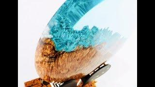 "#45 Woodturning - A Hybrid Planet ""Divergence"""