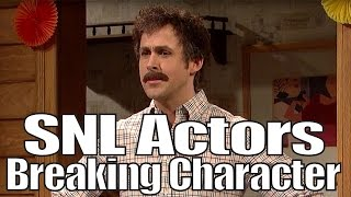 SNL Bloopers & Actors Breaking Character Compilation (Part 1)