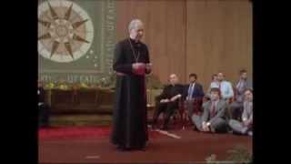 Bischof Alvaro: Liebe zur persönlichen Freiheit