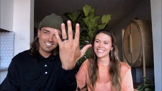 Chris Harrison asks Dean Unglert and Caelynn Miller-Keyes if they're now married as he checks up on their life after they left together on 'Bachelor in Paradise.' From 'Ben Higgins,' season 1, episode 3 of 'The Bachelor: The Greatest Seasons - Ever.' Watch MONDAY 8 7c on ABC, streaming, on demand, and Hulu.