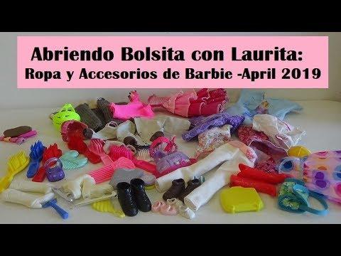 2f089b457 Abriendo Bolsita con Laurita: Ropa y Accesorios de Barbie -April 2019