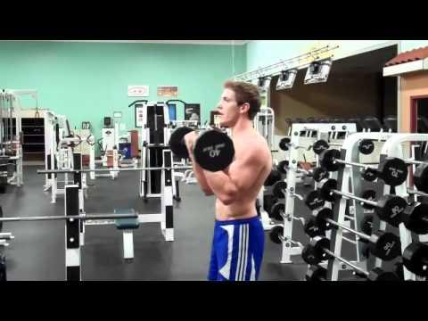 Close-Grip EZ-Bar Biceps Curl