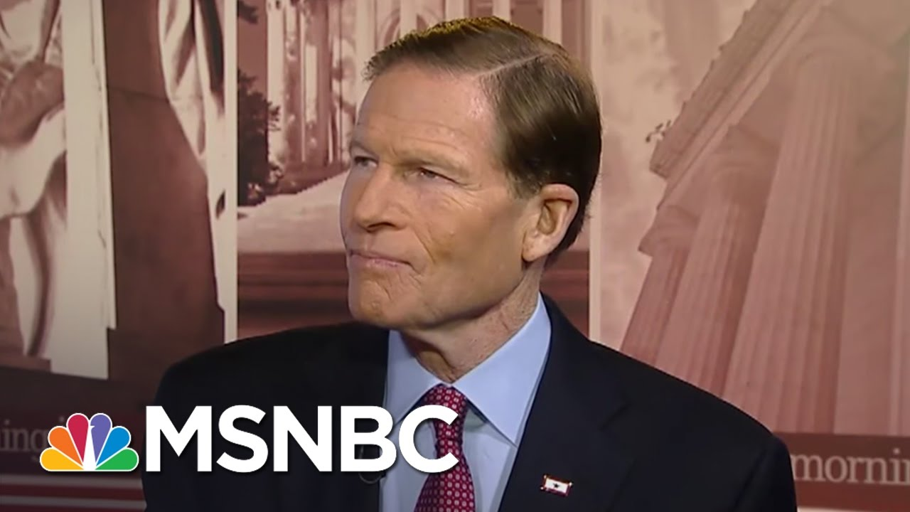 Richard Blumenthal: I Will Be Asking Neil Gorsuch 'Tough' Questions   Morning Joe   MSNBC thumbnail