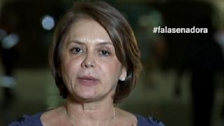 Senadora critica governo federal pela exclusão de Roraima do sistema elétrico nacional